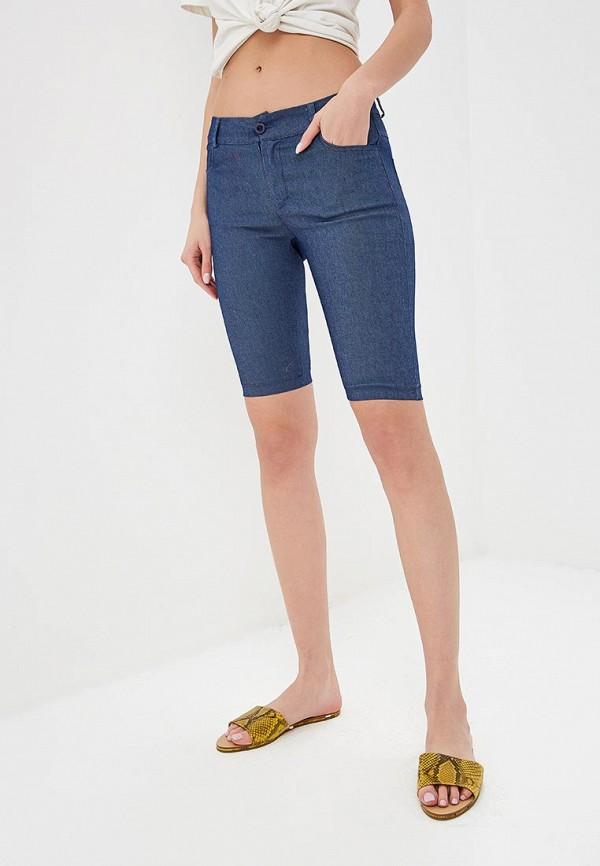 женские повседневные шорты rinascimento, синие
