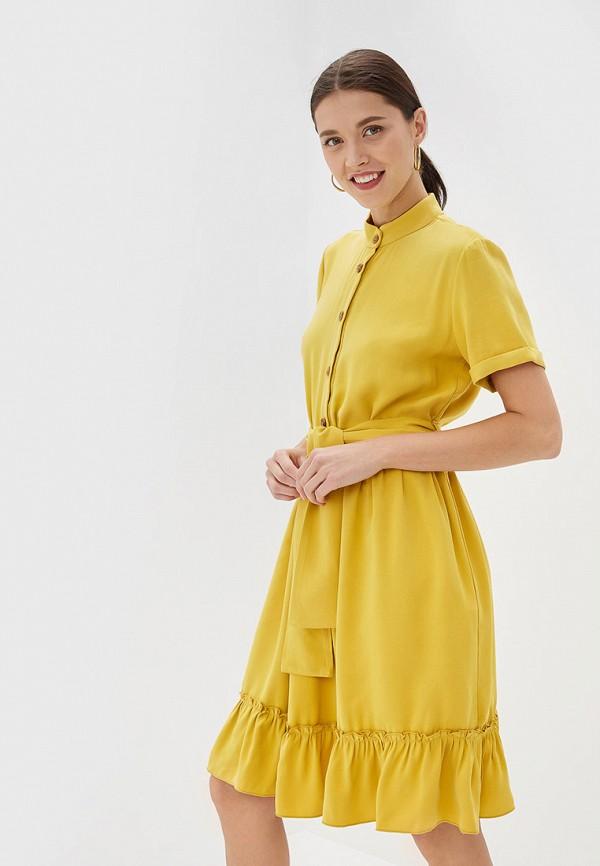 женское платье rinascimento, желтое