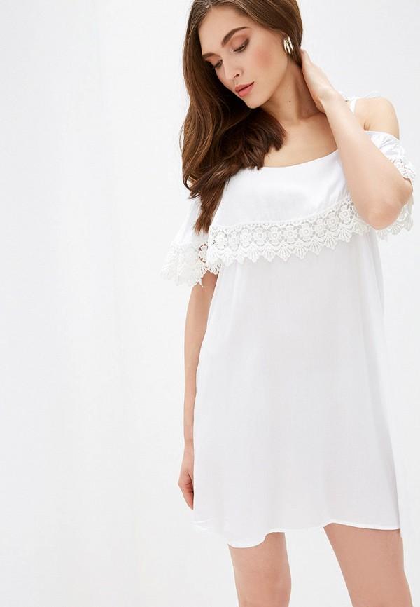 женское повседневные платье rinascimento, белое