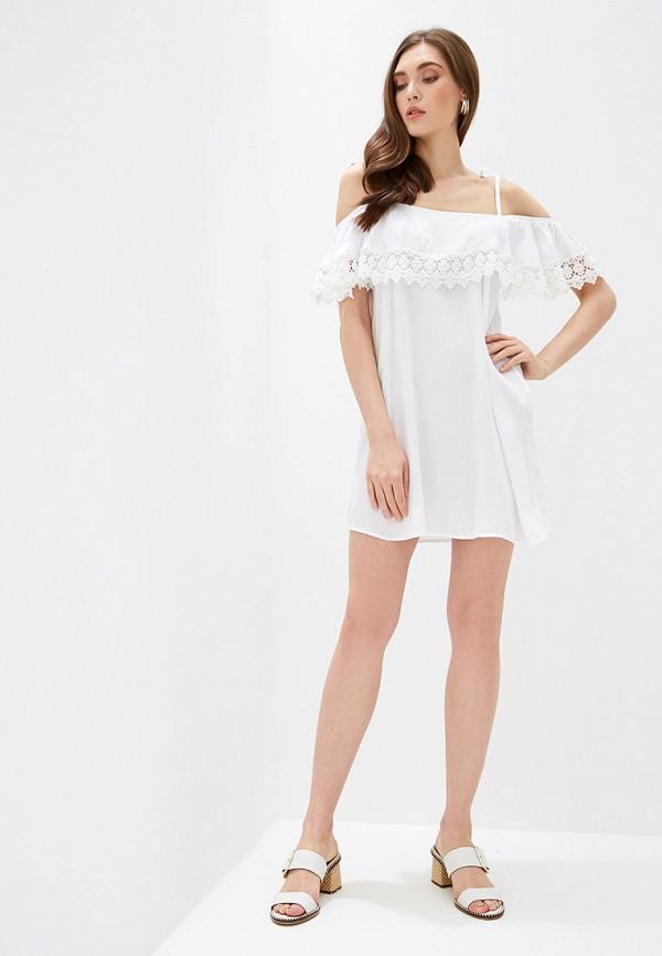 Фото 2 - женское платье Rinascimento белого цвета