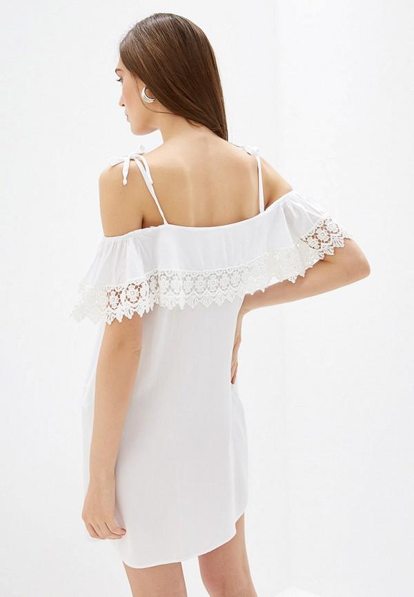 Фото 3 - женское платье Rinascimento белого цвета