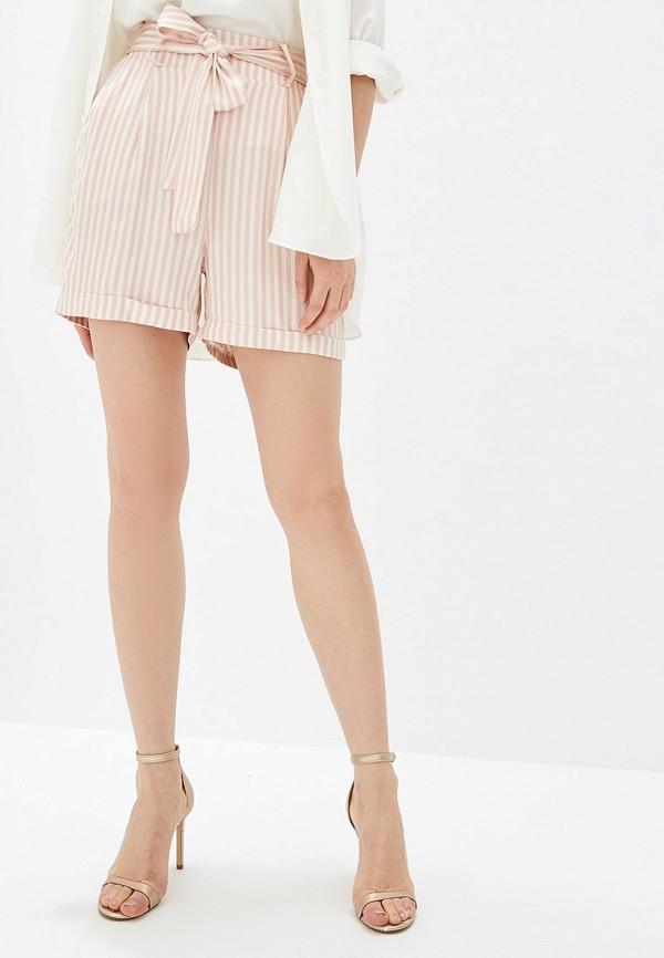 женские повседневные шорты rinascimento, розовые