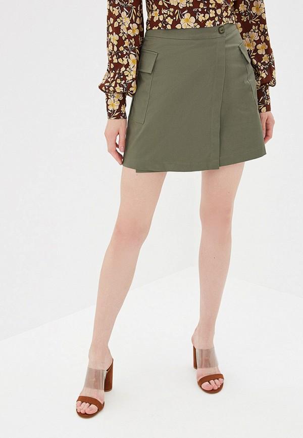 женская юбка rinascimento, хаки
