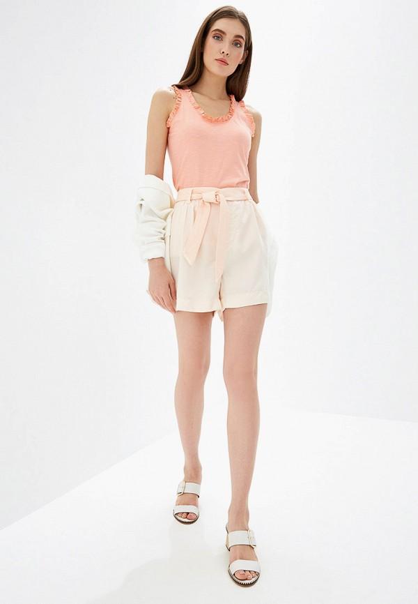 Фото 2 - женские шорты Rinascimento розового цвета