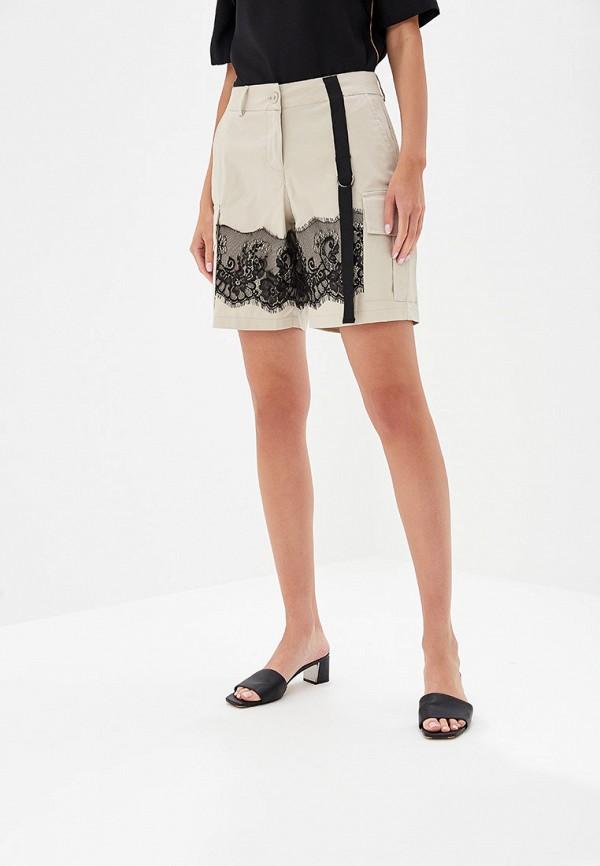женские повседневные шорты rinascimento, бежевые