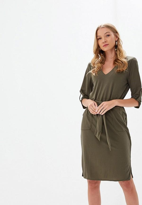 женское повседневные платье rinascimento, хаки