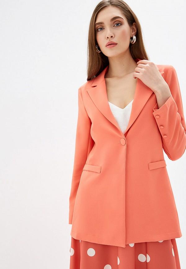 женский пиджак rinascimento, оранжевый