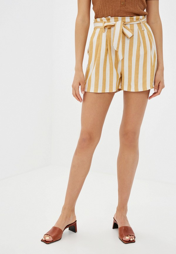 Купить женские шорты Rinascimento желтого цвета