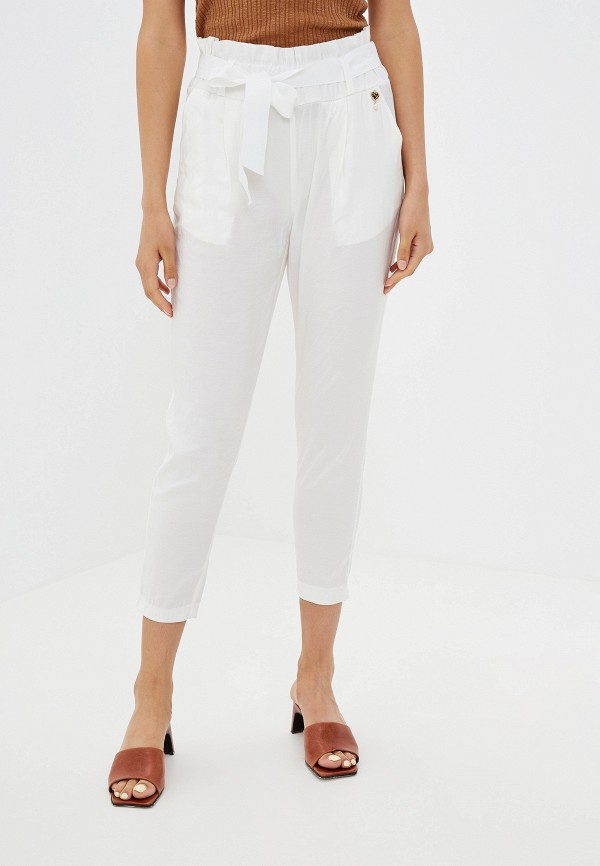женские брюки rinascimento, белые