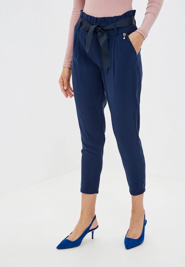 женские брюки rinascimento, синие