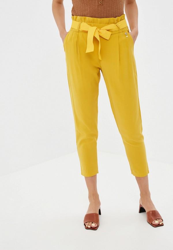 Купить женские брюки Rinascimento желтого цвета