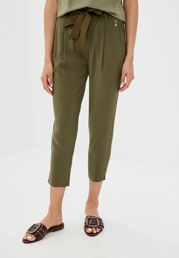 женские брюки rinascimento, хаки