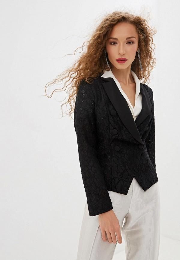 женский пиджак rinascimento, черный