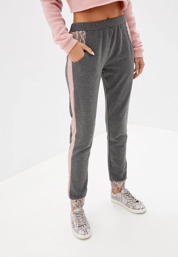 женские спортивные спортивные брюки rinascimento, серые