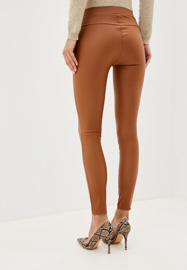 Фото 3 - женские леггинсы Rinascimento коричневого цвета