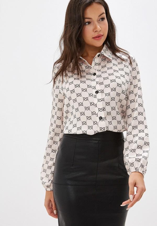 женская блузка rinascimento, бежевая