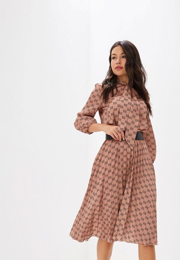 женское повседневные платье rinascimento, бежевое