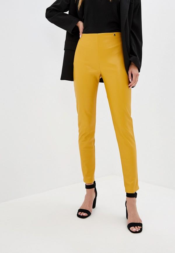 женские брюки rinascimento, желтые