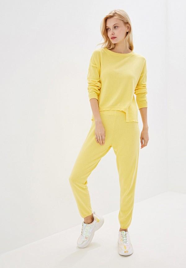 женский костюм rinascimento, желтый