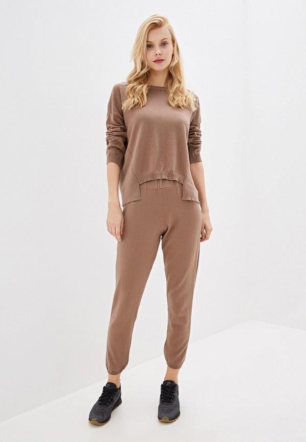 женский костюм rinascimento, коричневый