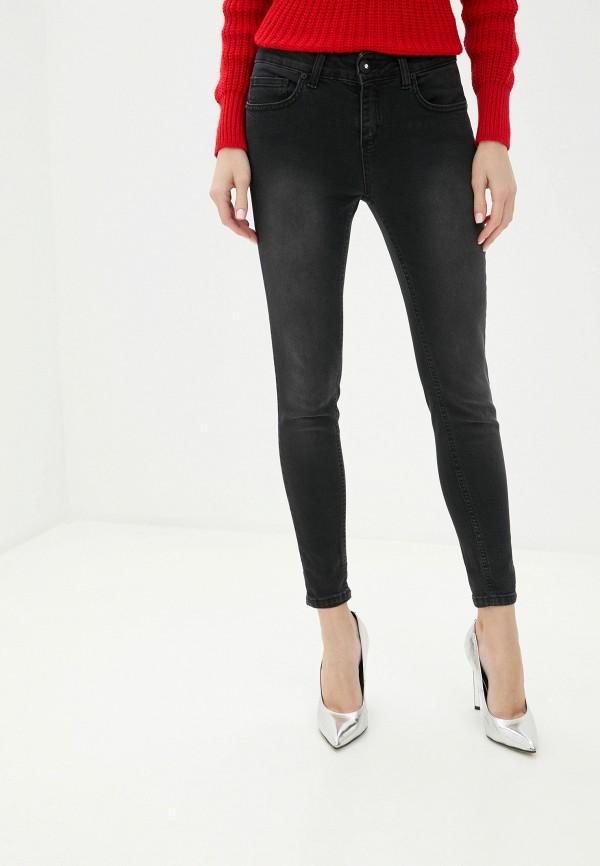 женские джинсы скинни rinascimento, черные