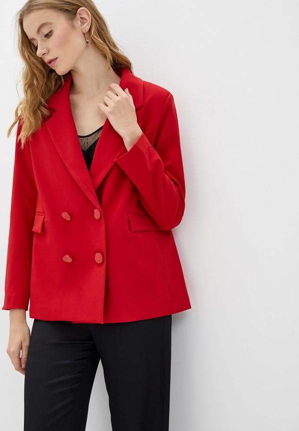 женский пиджак rinascimento, красный