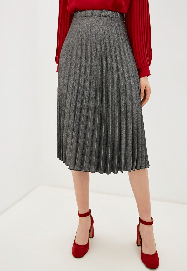женская юбка rinascimento, серая