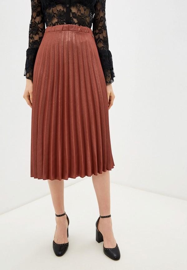 женская юбка rinascimento, розовая