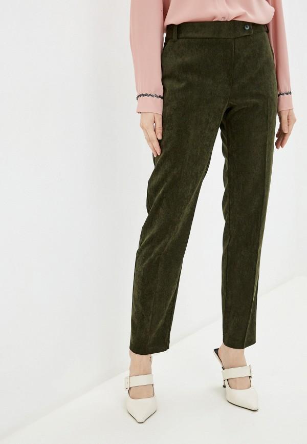 женские повседневные брюки rinascimento, хаки