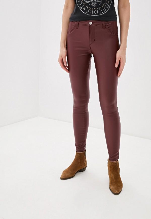 женские брюки rinascimento, бордовые