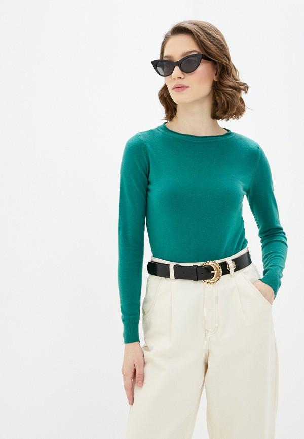 женский джемпер rinascimento, зеленый