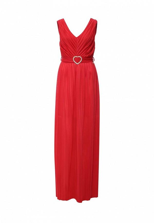 женское вечерние платье rinascimento, красное