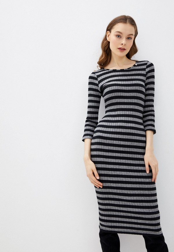 женское повседневные платье rinascimento, серое