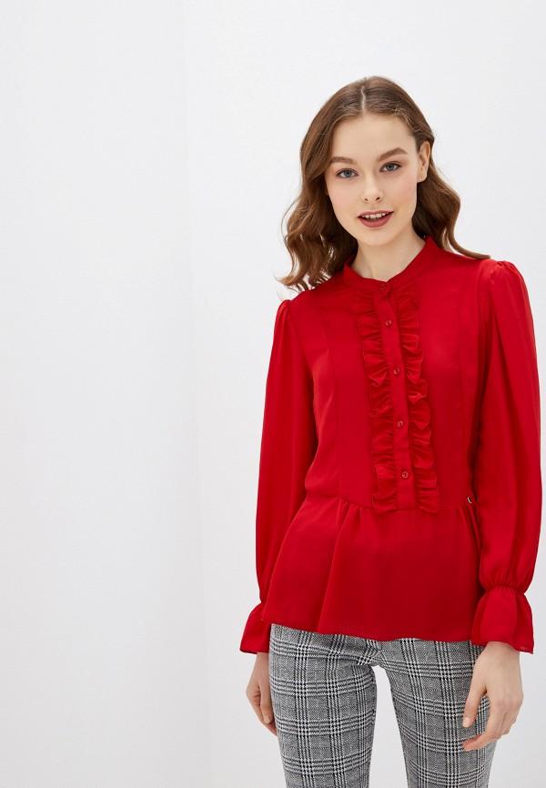 женская блузка rinascimento, красная