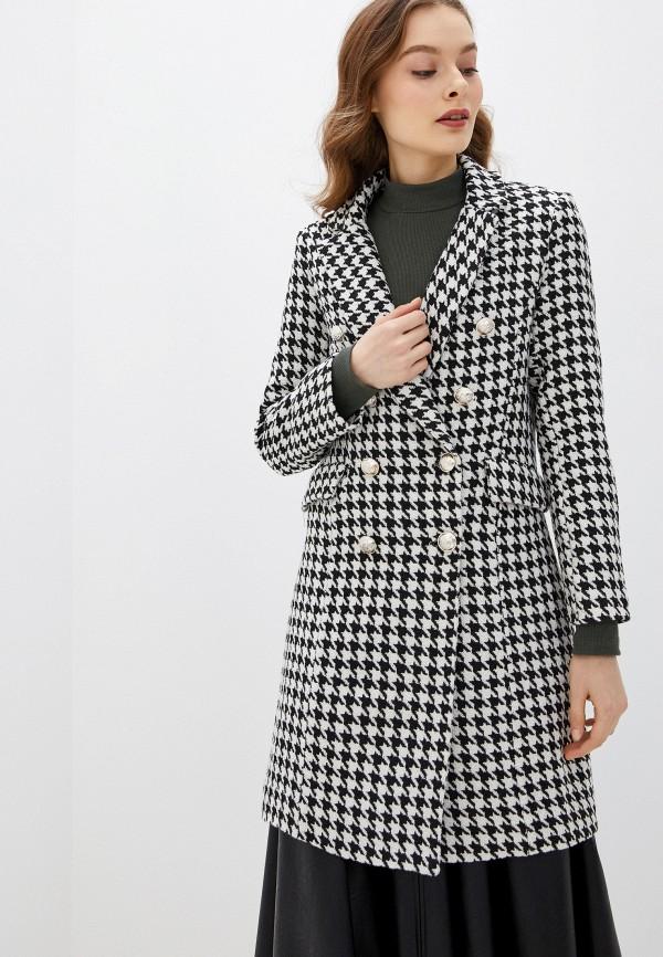 женское пальто rinascimento, серое