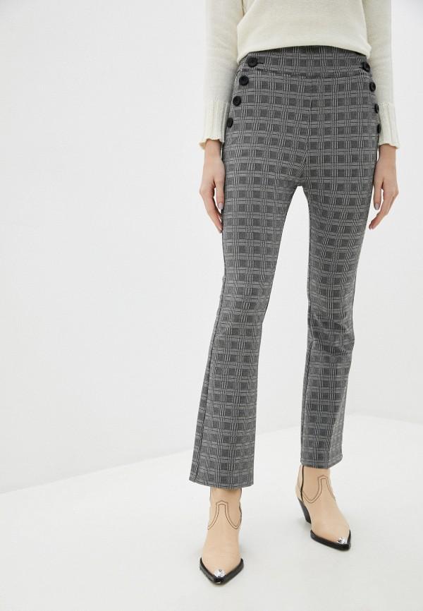 женские повседневные брюки rinascimento, серые