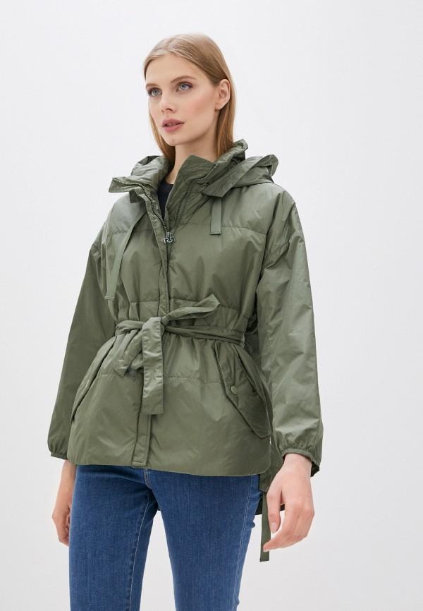 женская куртка rinascimento, зеленая