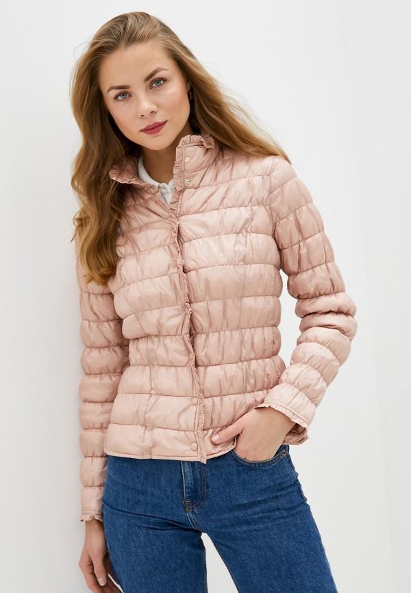 женская куртка rinascimento, розовая
