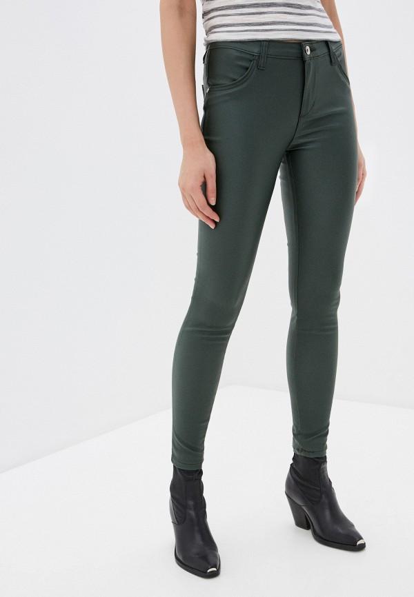 женские повседневные брюки rinascimento, зеленые