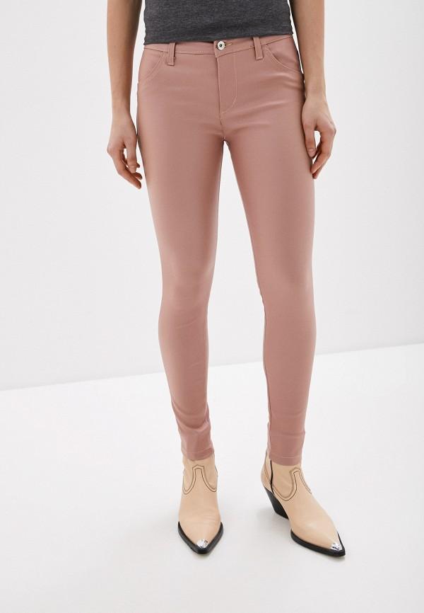 женские брюки rinascimento, розовые