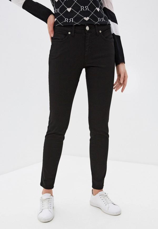 женские повседневные брюки rinascimento, черные