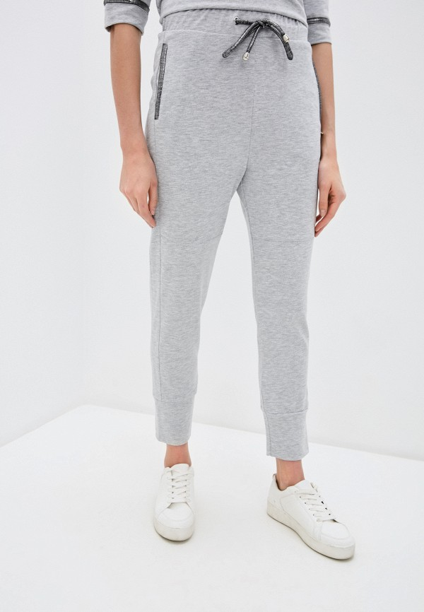 женские спортивные брюки rinascimento, серые