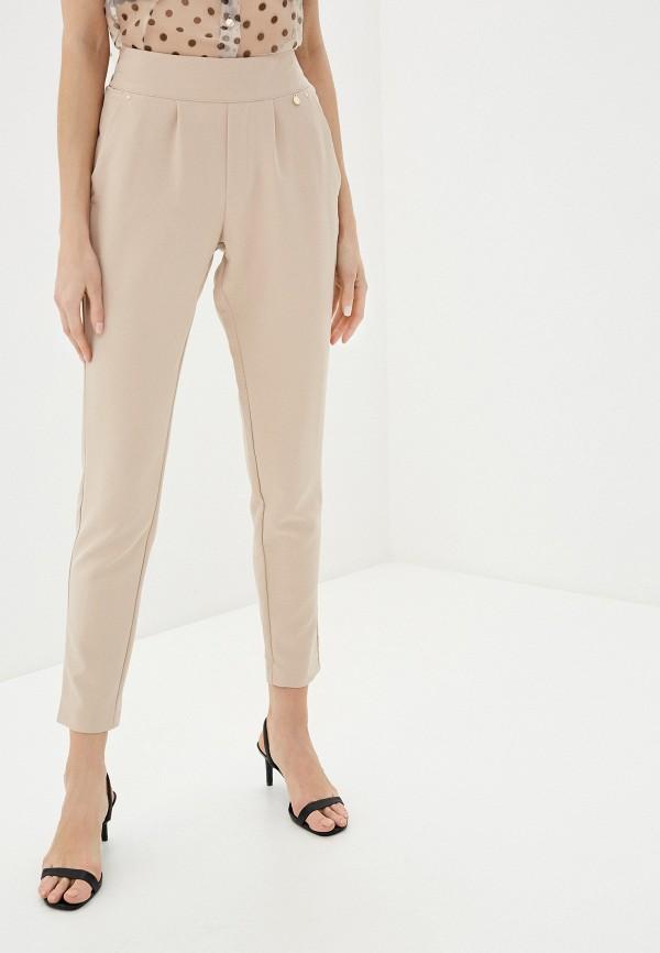 женские повседневные брюки rinascimento, бежевые