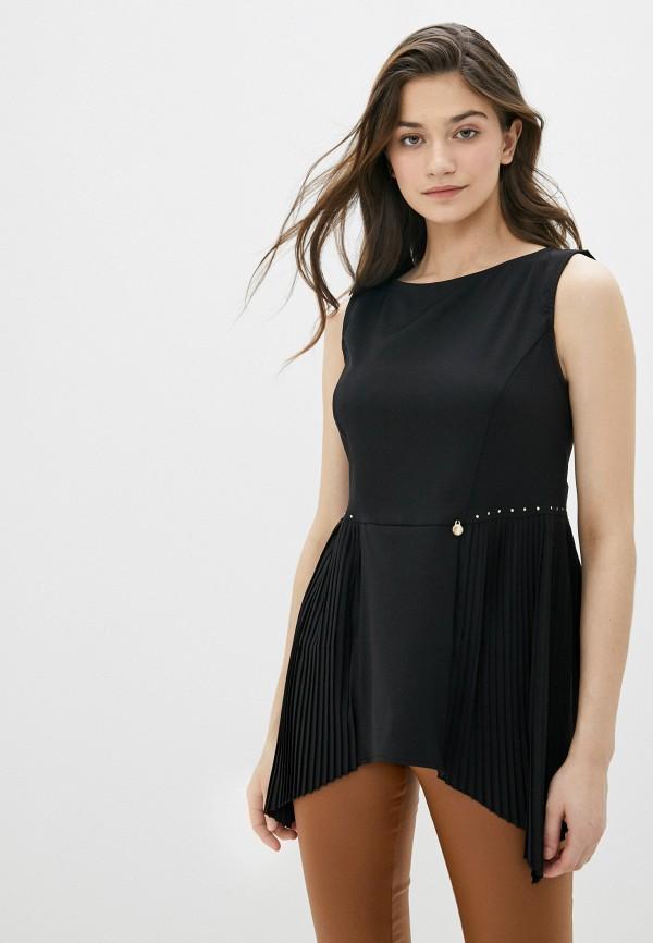 женская блузка rinascimento, черная