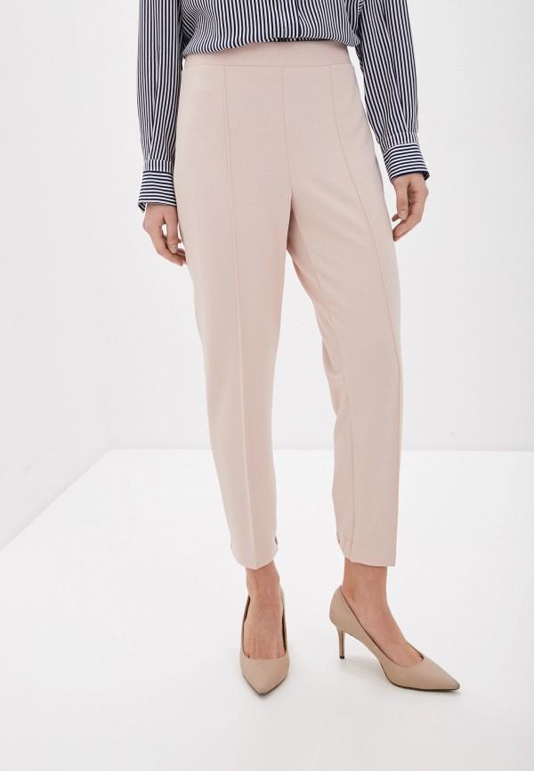 женские повседневные брюки rinascimento, розовые