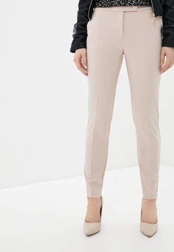 женские классические брюки rinascimento, бежевые