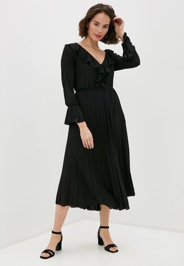 женское повседневные платье rinascimento, черное