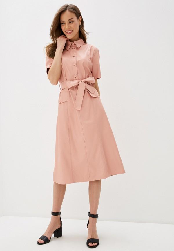 женское платье rinascimento, розовое