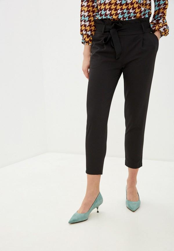женские прямые брюки rinascimento, черные