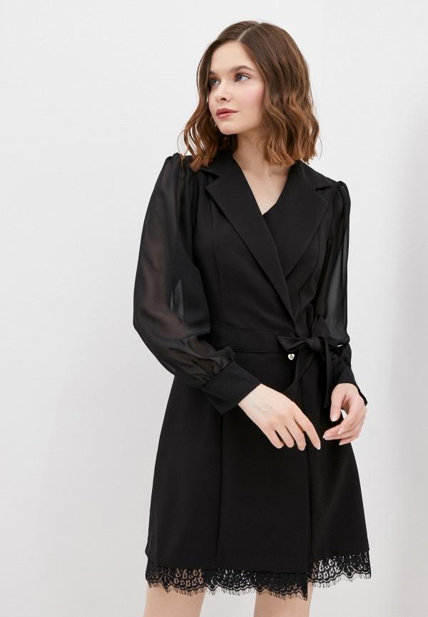 женское платье rinascimento, черное